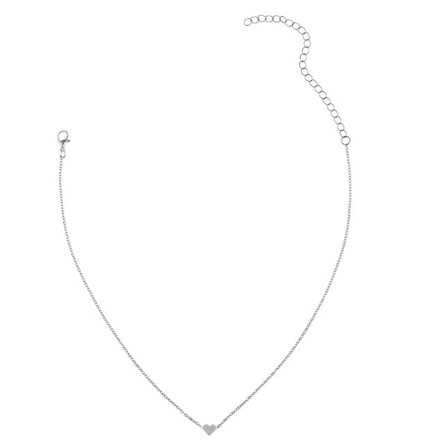 Kelly heart necklace - Delfini Swimwear