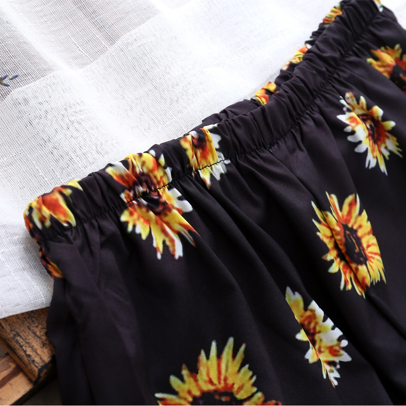 Sun Flower Bottoms - Delfini Swimwear