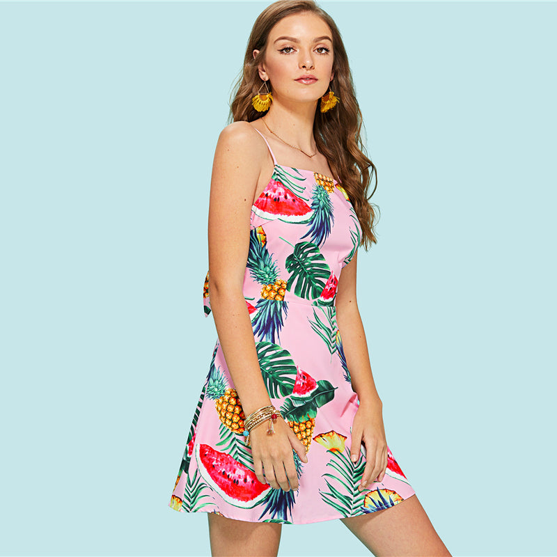 Fruit Flavored Dress - Delfini Swimwear