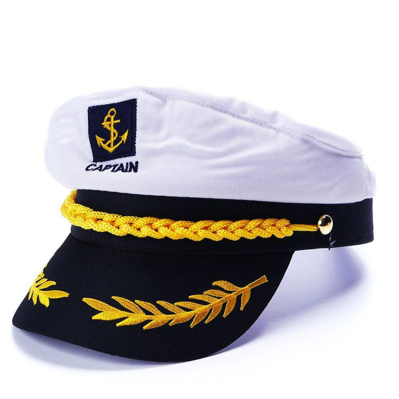 Yacht Captain's Hat - Delfini Swimwear