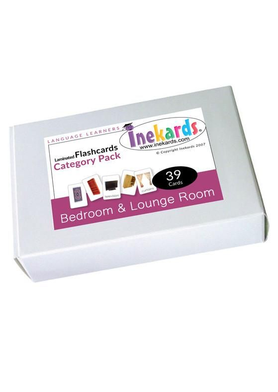 Bedroom & Loungeroom Flashcards