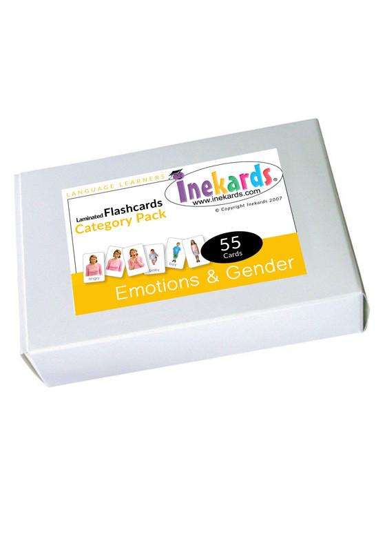Emotions & Gender Flashcards