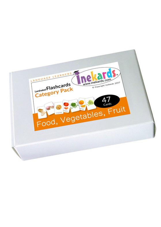 Food, Fruit & Vegetable Flashcards