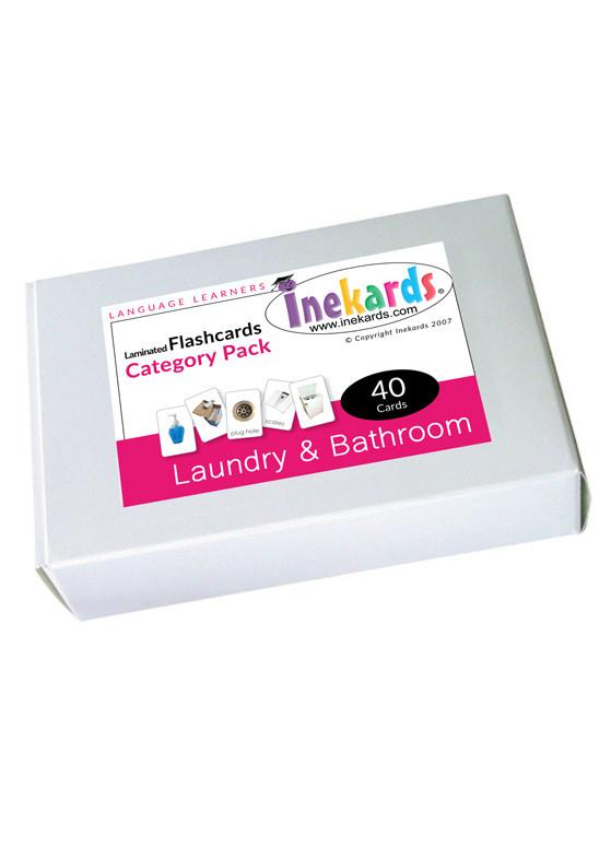 Laundry & Bathroom Flashcards