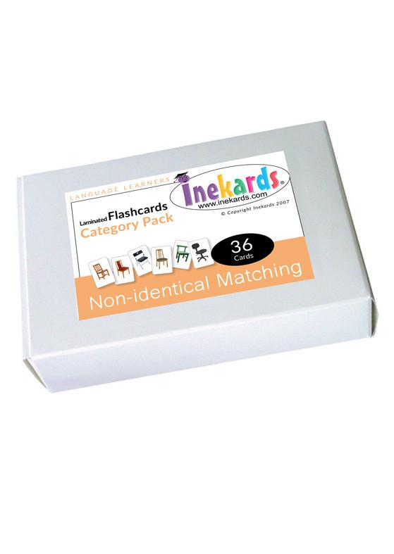 No Indentical Matching Flashcards