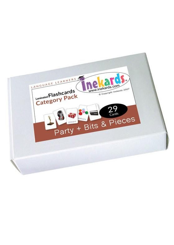 Party & Bits an Pieces Flashcards