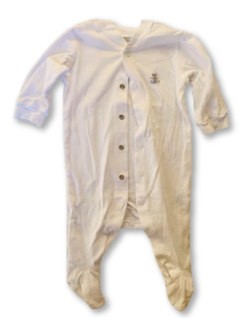 1-3 Months White Onesie - Woolworths-Babygrow-Wear it Again SA