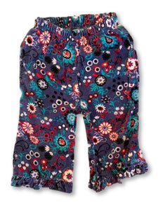 3-6 Months Floral Corduroy Long Sleeve Pants - Ackermans-Pants-Wear it Again SA