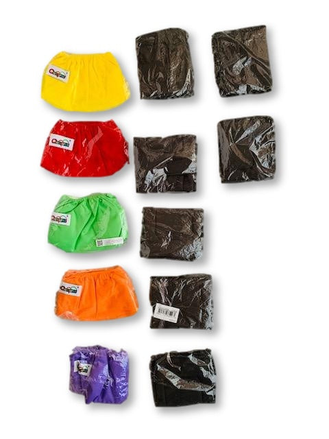 Nappy Covers and Microfiber Bamboo Charcoal Inserts - ianqunui-Cloth Nappies-Wear it Again SA