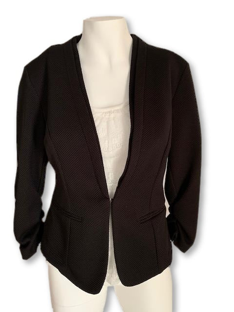 Size 38 Black 3/4 Sleeve Jacket - Inwear-Jackets-Wear it Again SA
