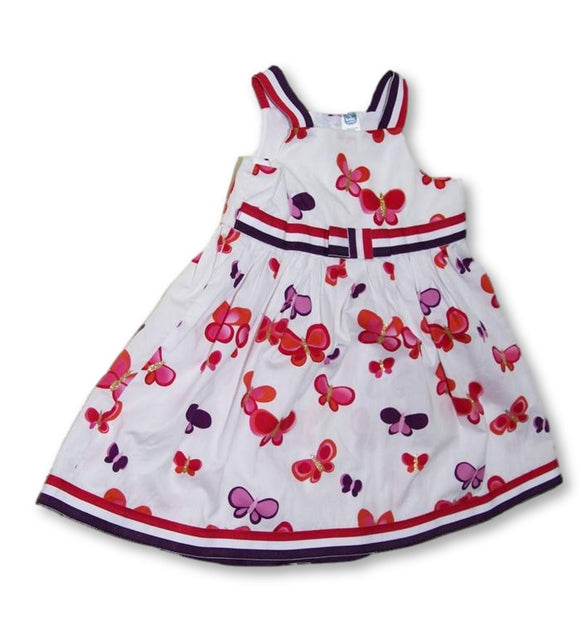 18-24 Months Printed Butterfly Dress - Ackermans-Dresses-Wear it Again SA