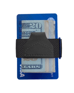 Wallets - Solid Black Tuck-a-Wallet - KK & Jay Supply Co.