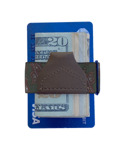 Wallets - Elsmere Green Tuck-a-Wallet - KK & Jay Supply Co.