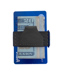 Wallets - Jackson Dot Black Tuck-a-Wallet - KK & Jay Supply Co.