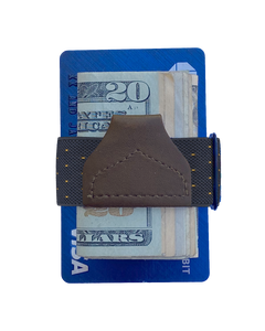 Wallets - Jackson Dot Navy Tuck-a-Wallet - KK & Jay Supply Co.