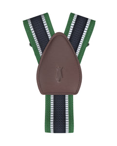 shirttail garters - Fieldston Green - KK & Jay Supply Co.