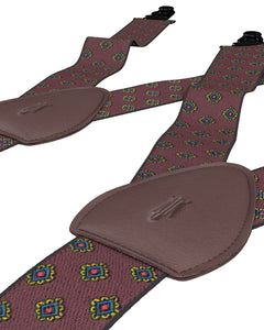 sockless shirttail garters - Sockless Washington Maroon - KK & Jay Supply Co.
