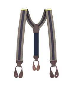 suspenders - Elder Stripe Suspenders - KK & Jay Supply Co.