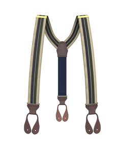 suspenders - Hutch Stripe Suspenders - KK & Jay Supply Co.