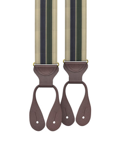 suspenders - Big & Tall Hutch Stripe Suspenders - KK & Jay Supply Co.