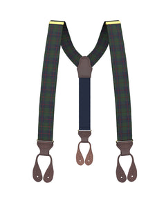 Big & Tall Honeywell Forest Suspenders - KK & Jay Supply Co.