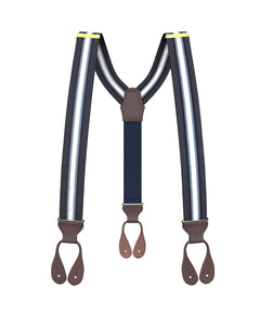 River Stripe Suspenders - KK & Jay Supply Co.