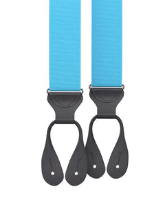 suspenders - Turquoise Grosgrain Suspenders - KK & Jay Supply Co.