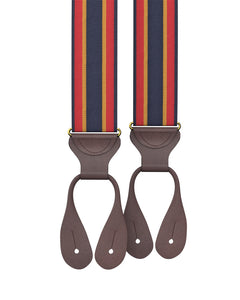 suspenders - Big & Tall Tremont Stripe Suspenders - KK & Jay Supply Co.
