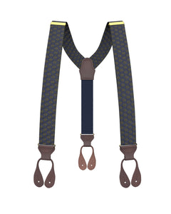 suspenders - Big & Tall Washington Navy Suspenders - KK & Jay Supply Co.