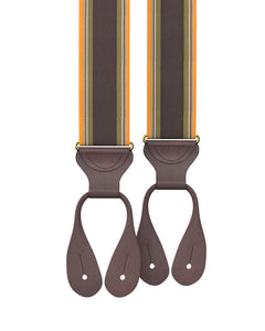 Big & Tall Westchester Stripe Suspenders - KK & Jay Supply Co.