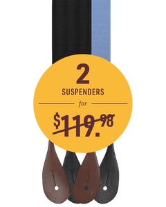 Custom Bundle - Suspenders 2-Pack - KK & Jay Supply Co.
