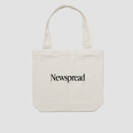 Newspread: Garamond Tote Bag | Newspread Store