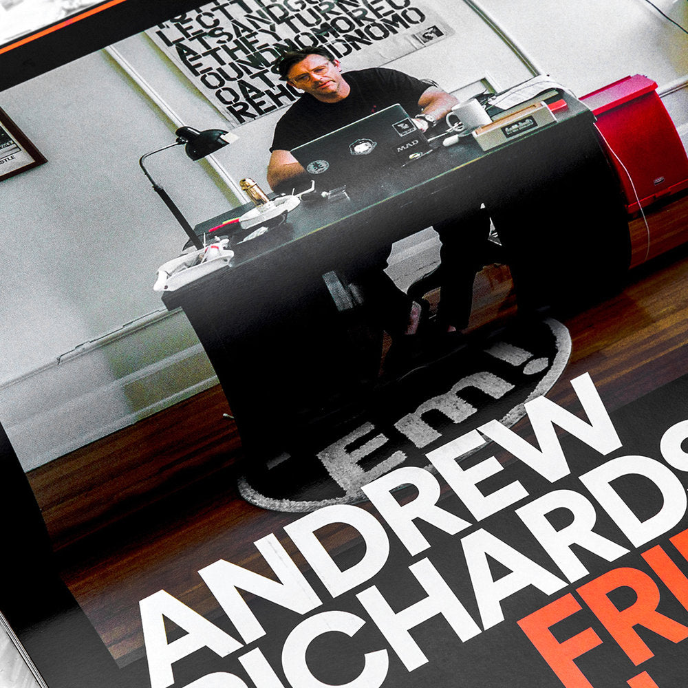 HYPEBEAST Magazine 'Sequences' Issue #23 - Andrew Richardson