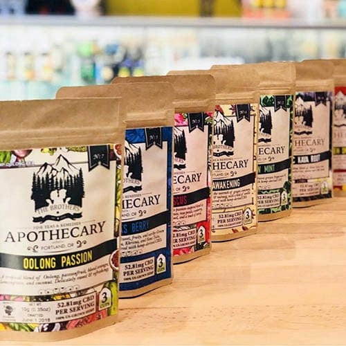 APOTHECARY TEA BUNDLE | 8 PACK - Charlotte CBD Shop
