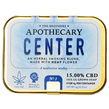 Load image into Gallery viewer, APOTHECARY BROTHERS SMOKING BLEND | CENTER - CHARLOTTE CBD