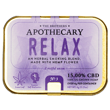 Load image into Gallery viewer, APOTHECARY BROTHERS SMOKE BLEND | RELAX - CHARLOTTE CBD