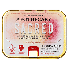 Load image into Gallery viewer, APOTHECARY BROTHERS SMOKING BLEND | SACRED - CHARLOTTE CBD