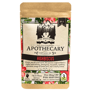 APOTHECARY CBD HEMP TEA | HIGHBISCUS - Charlotte CBD Shop