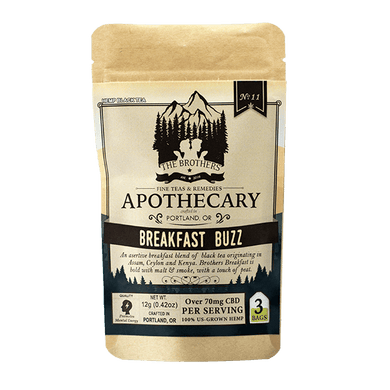 APOTHECARY BROTHERS TEA  | BREAKFAST BUZZ - CHARLOTTE CBD