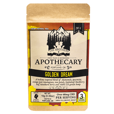 APOTHECARY BROTHERS TEA  | GOLDEN DREAM - Charlotte CBD Shop