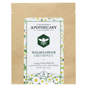 APOTHECARY BROTHERS | HONEY PACK | WILD FLOWER ORGANIC - CHARLOTTE CBD