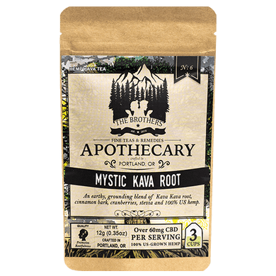APOTHECARY BROTHERS TEA |  MYSTIC KAVA ROOT - CHARLOTTE CBD
