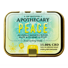 Load image into Gallery viewer, APOTHECARY BROTHERS SMOKE BLEND | PEACE - CHARLOTTE CBD