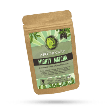 APOTHECARY CBD HEMP TEA | MIGHTY MATCHA - Charlotte CBD Shop