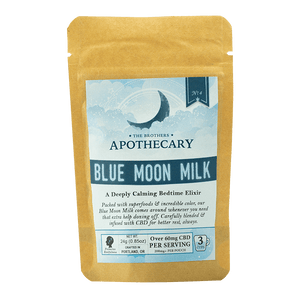 APOTHECARY BROTHER CBD LATTE | BLUE MOON MILK