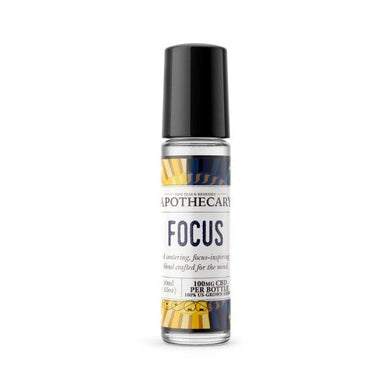 APOTHECARY | ESSENTIAL OIL ROLLER | FOCUS - CHARLOTTE CBD