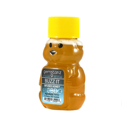 GEMSTONZ BUZZ IT CBD HONEY | 100MG - Charlotte CBD Shop
