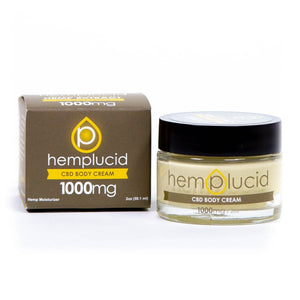 HEMPLUCID BODY CREAM | CBD | 1000MG - CHARLOTTE CBD