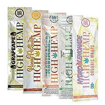 HIGH HEMP WRAPS | ASSORTED FLAVORS - CHARLOTTE CBD