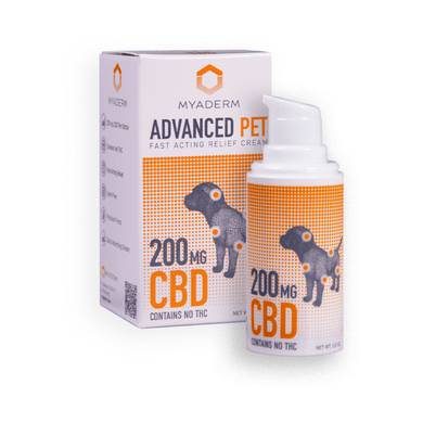 MYADERM ADVANCED PET CREAM | 200MG - CHARLOTTE CBD